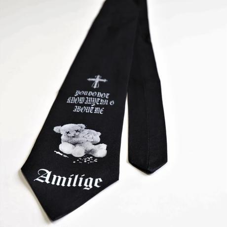 【Amilige】Psycho Bear ネクタイ(82190263052)