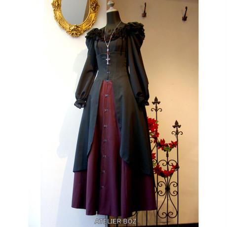 【ATELIER BOZ】ジャンメールコルセットロングスカート(BZ1498):Mサイズ
