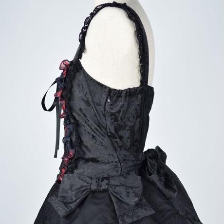 【h.NAOTO】 Blood Dahila Dress/CNF-O072