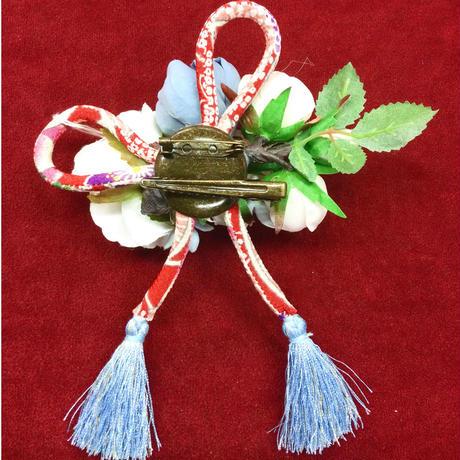 【CHOCOCHIP COOKIE】和花ちりめんリボンタッセルクリップ&ブローチ