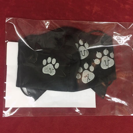 【h.NAOTO】Cat footprint cat ear mask Wear / CNF29-G140 BK/F