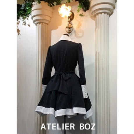 【ATELIER BOZ】長袖キャロルワンピース(BZ6370)