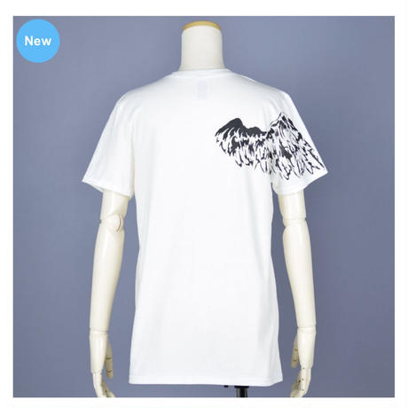 【h.NAOTO】One Winged Angel T-SH / CNF32-T120 WH