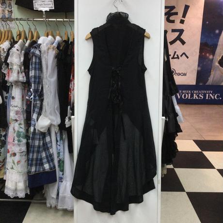 【h.NAOTO】  ノースリーブフリルシャツ