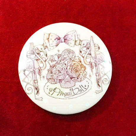 【Princess Doll】10thコラボ缶バッチ(フラミンゴ)