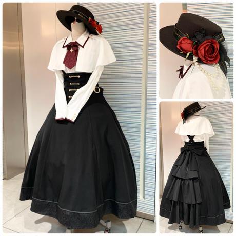 【Amavel】Romantique Doll ロングフレアスカート