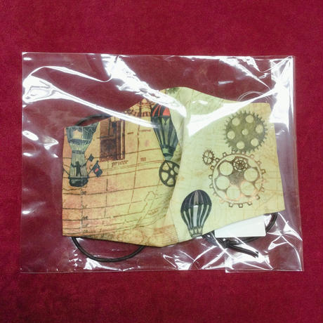 【h.NAOTO】 Balloon a trip MASK WEAR / CNF29-G470 KHA/M
