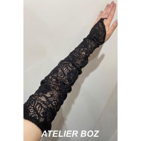 【ATELIER BOZ】グローブ付きジュリエッタノースリーブワンピース/BZ6366