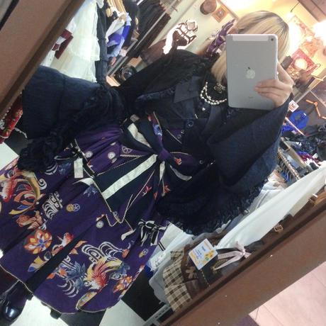 【h.NAOTO】 Gothic-Velvet Cardi/BBD20-Z014