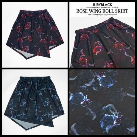 【JURY BLACK 】ローズウィング巻きスカート(12074261001)