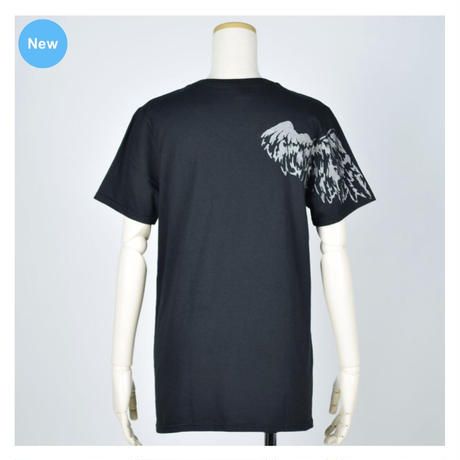 【h.NAOTO】One Winged Angel T-SH / CNF32-T123 BK