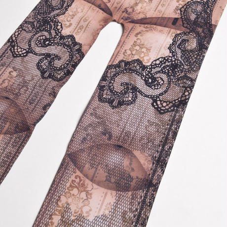 【h.NAOTO】Sphere joint Tights /SPJ21-G027 BEG/F