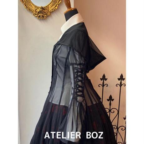 【ATELIER BOZ】シースルーカトレアフードワンピース(BZ6369)