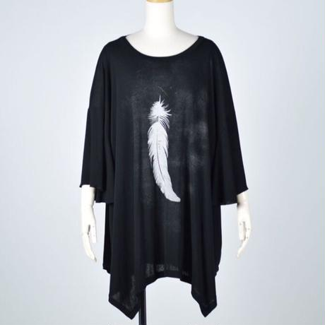 【h.NAOTO】Angel Wings Super Size Tunic/CNF27-T189 BK/XL