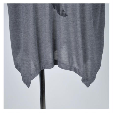 【h.NAOTO】Angel Wings Super Size Tunic /CNF29-T258 GY/XL