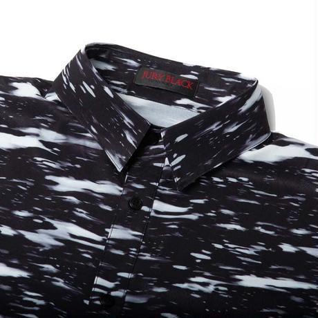 【JURY BLACK】Dripping Handle Long shirt(12123261002)