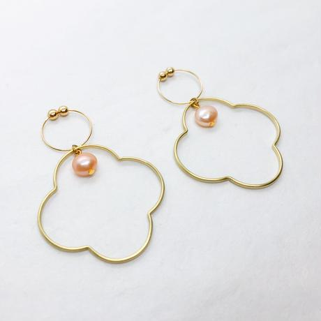 waku  earing hana (M/pearl)