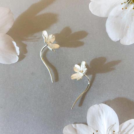 桜花 ピアス