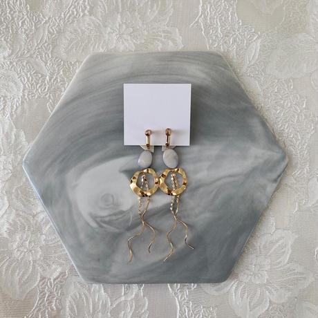 handmade earring  -641-