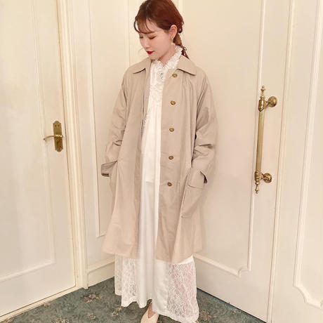 vintage Burberry trench coat -FA362-