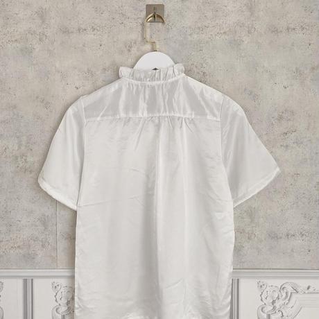 vintage frill blouse -FA385-