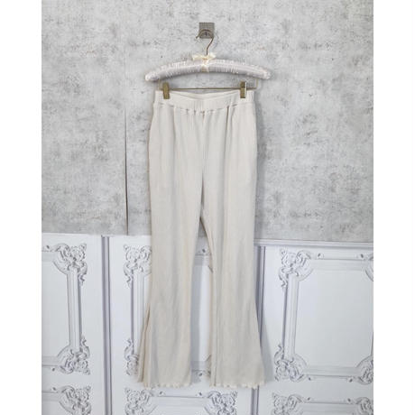 Acka original rib knit pants