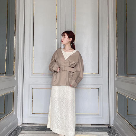 Volume sleeve  jacket -FA325-