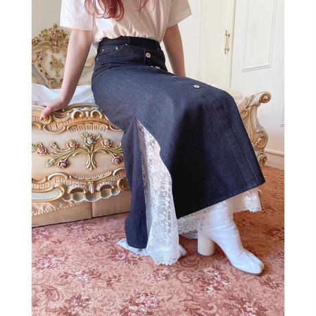 Acka original denim skirt