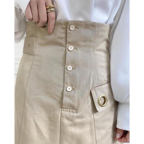 Acka original lace layered skirt -FA481-