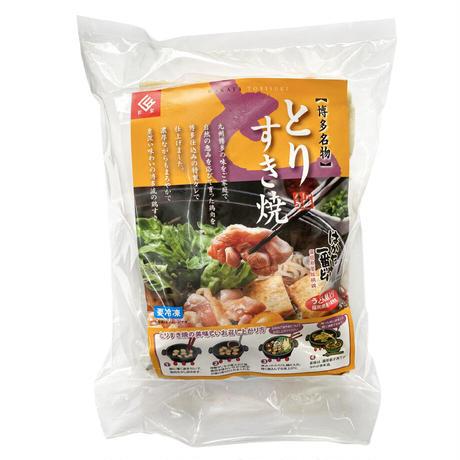 「はかた一番どり」 鶏すき焼きセット(2人前)