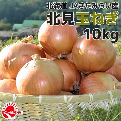 北見玉ねぎ 10kg【北海道 JAきたみらい産】