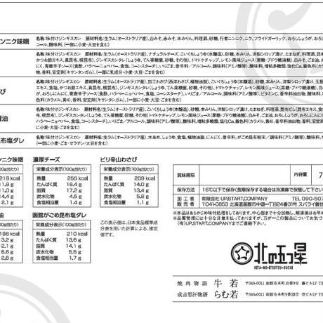 がっつり北海道・函館を感じる【五種の味付けジンギスカン】希少品種!サフォーククロスラム