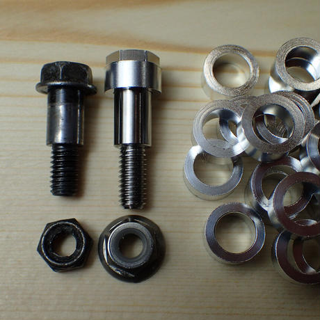 NISSINマスター、グリメカマスター用レバー取り付け ボルトナットセット 64チタン製