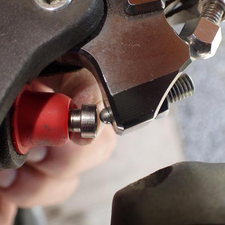 クラッチレバー、ブレーキレバー、使いやすい加工