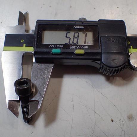 AJPマスター用レバー取り付け ボルトナット セット 64チタン製