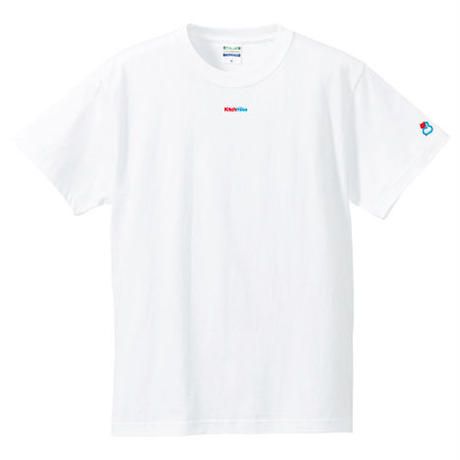 KitchHikeロゴ入り定番Tシャツ: ホワイト
