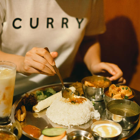 FOOD Tシャツ: CURRY