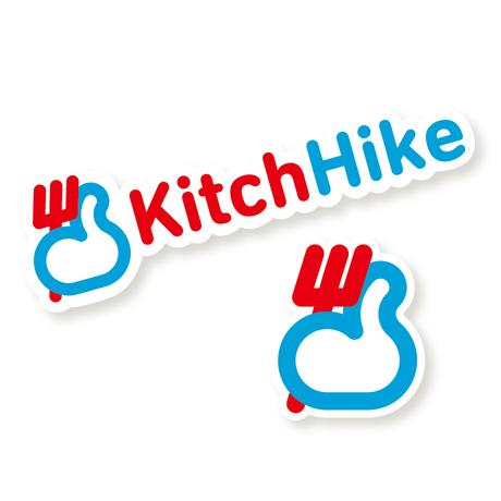 KitchHikeロゴステッカー (セット)