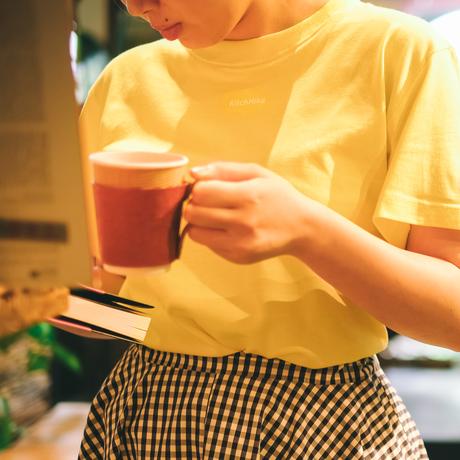 KitchHikeロゴ入りカラーTシャツ: レモネード