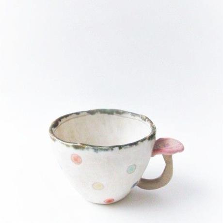 キノコ付きカップ