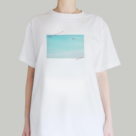 Voler dans la mer フォトTシャツ《NORTH SHORE SERIES》