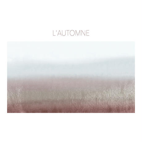 L'AUTOMNE トートバッグ(大)