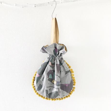 pompom BAG <kitutuki × itomono × sister market コラボアイテム>