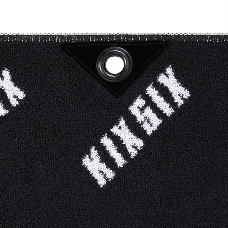 ALL OVER LOGO IMABARI TOWEL(BLACK&WHITE)