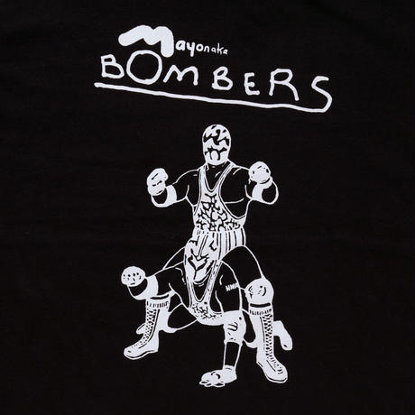 T shirts / Mayonaka BOMBERS 10 years later Black