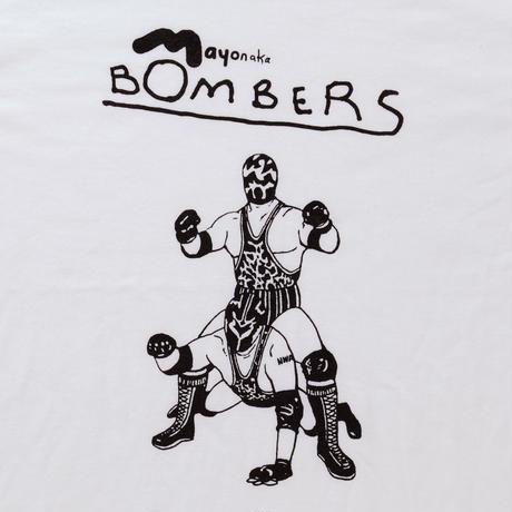 T shirts / Mayonaka BOMBERS 10 years later   White