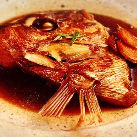 天然真鯛かぶと煮