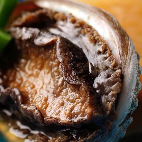 国産(千葉)黒アワビの柔らか煮