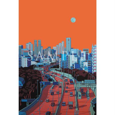 ポストカードセット ~14日目の月~