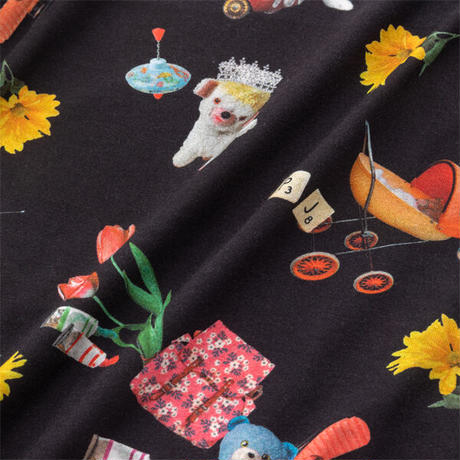 おもちゃ柄 ショートスリーブTシャツ ニットトップス PJR194-13226 ※トップスのみ